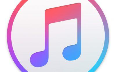 L'évolution d'iTunes…