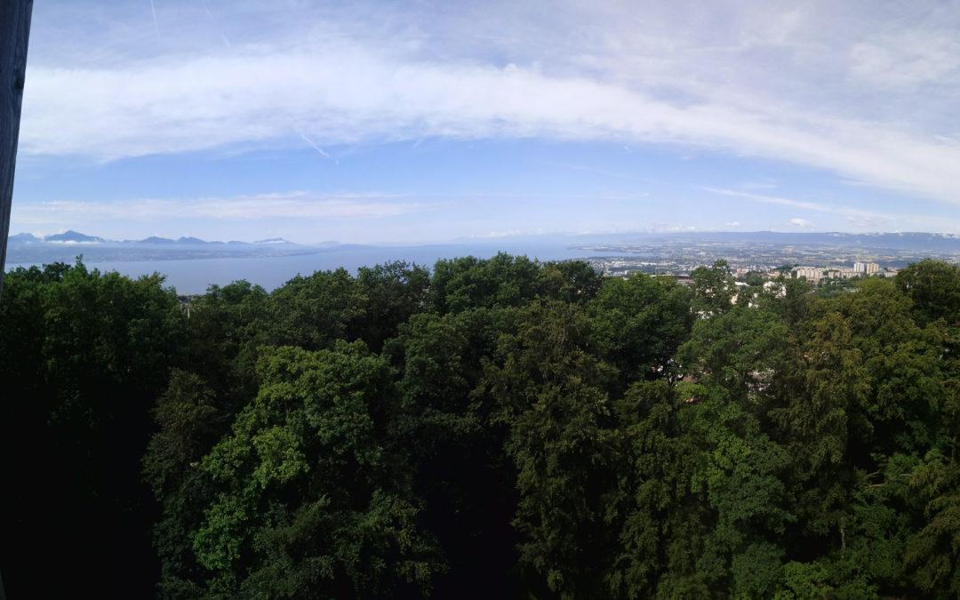 Le bonheur du dimanche, des panoramas de Lausanne fait-maison!