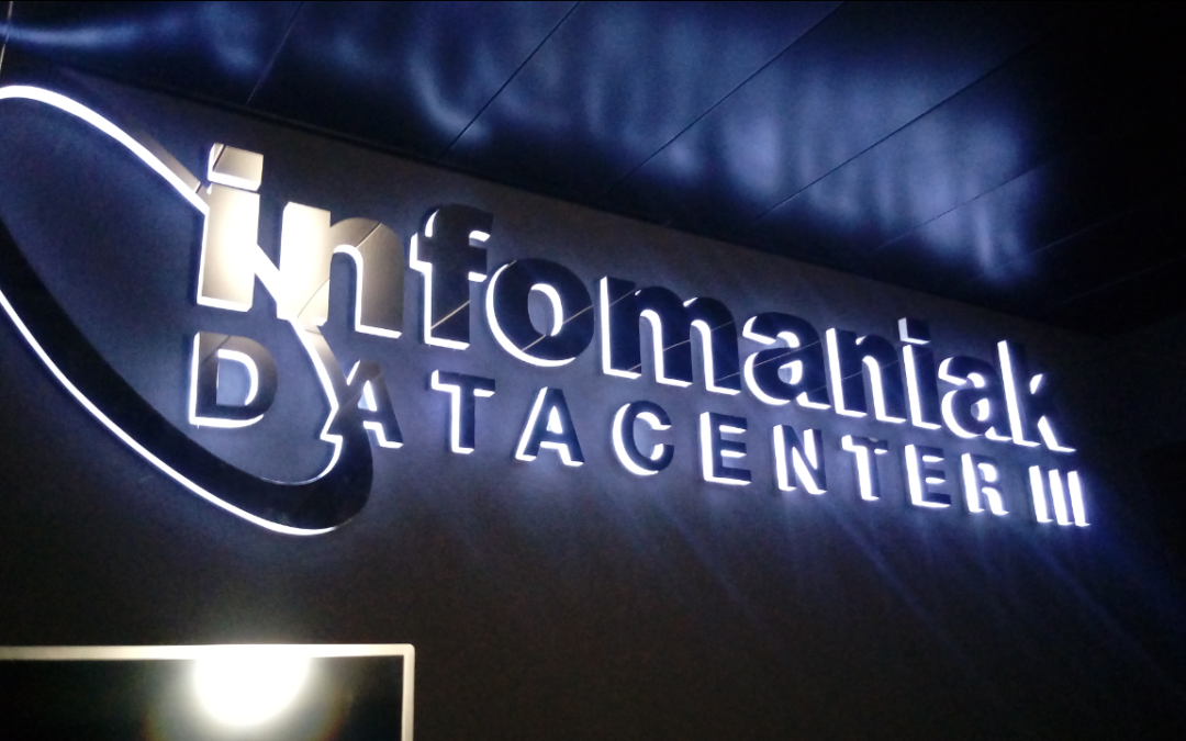 La visite du Datacenter number 3 d'Infomaniak