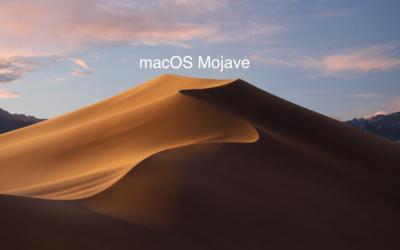 Mission accomplie: Mojave est installé sur ce beau petit Mac!