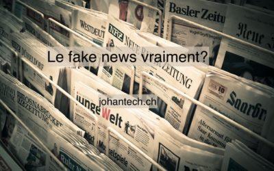 Les fake news à proximité de tous