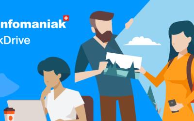 Infomaniak lance un nouveau service de Drive, 100% Swiss Made