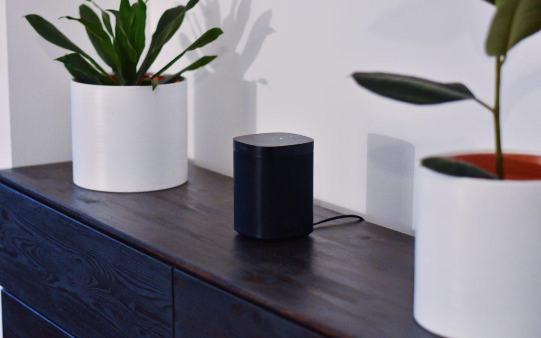 Test des enceintes connectées Sonos One (2ème génération)