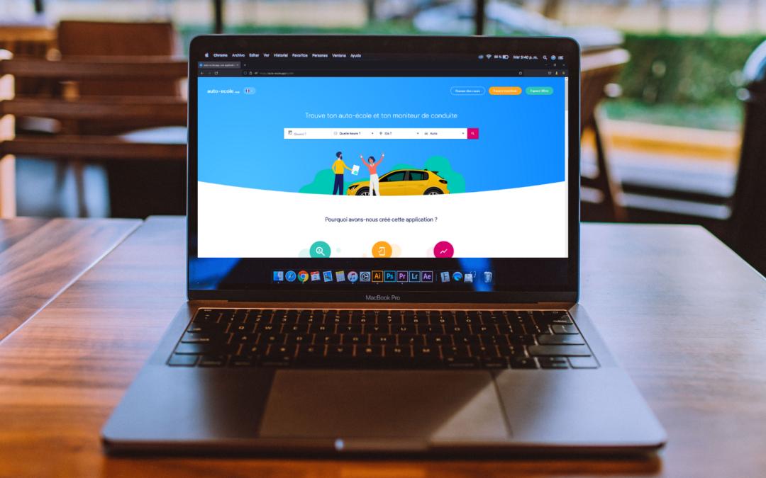 auto-ecole.app une plateforme qui facilite le contact entre élève et moniteur